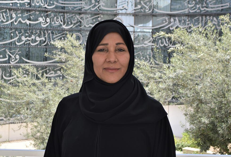 Dr. Aisha Al-Mannai, director of the Center for Muslim Contribution to Civilization at the College of Islamic Studies
