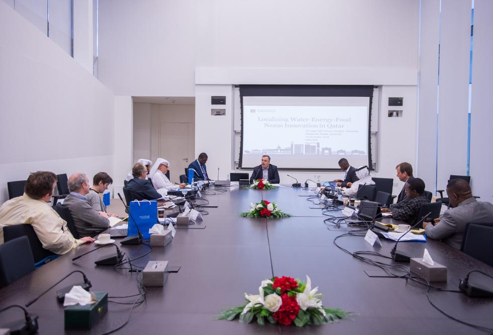 The College of Law, part of Hamad Bin Khalifa University, recently organized the Localizing Water-Energy-Food Nexus Innovation in Qatar workshop.