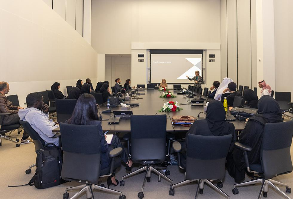 HBKU's College of Law Conducts Admissions Campaign