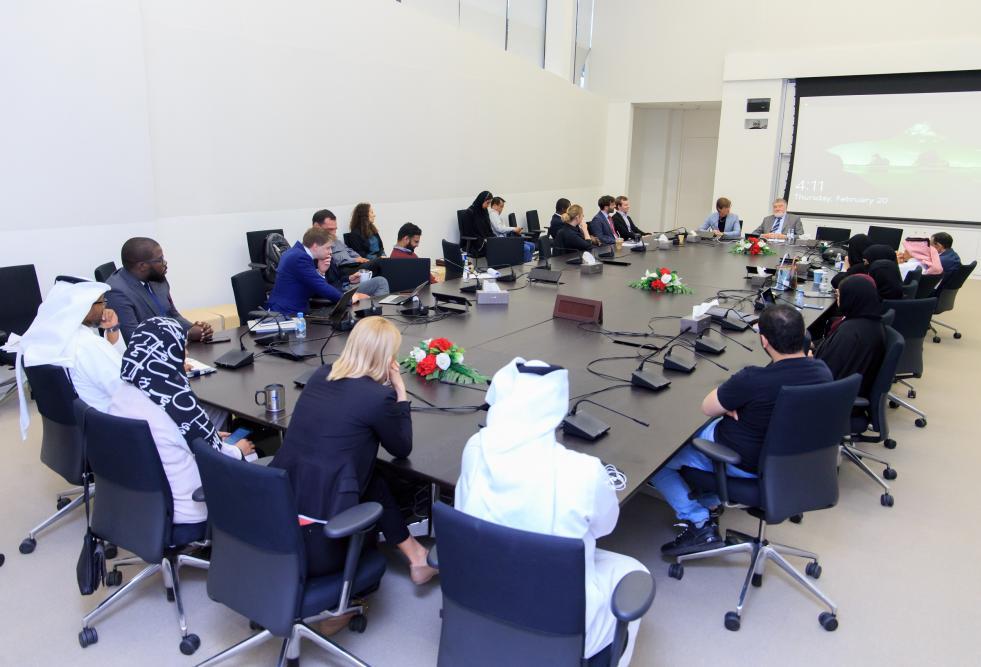HBKU College of Law Hosts Qatar International Court Judge