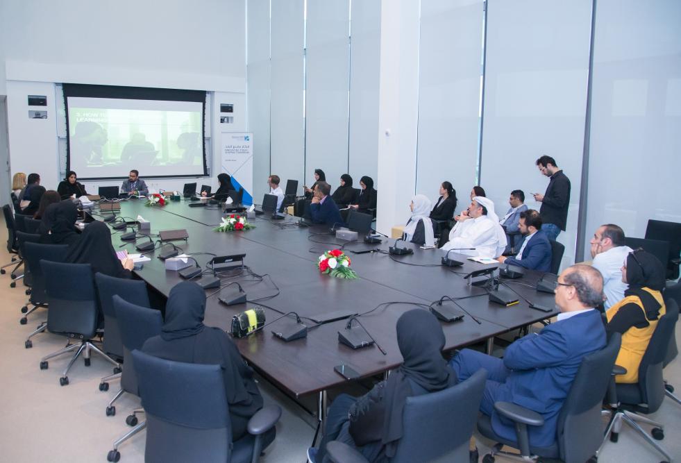 كلية السياسات العامة بجامعة حمد بن خليفة تنظم محاضرة تناولت أهمية  القيادات المدرسية في عمليات إصلاح التعليم