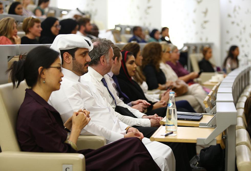 ندوة كلية القانون بجامعة حمد بن خليفة تستكشف قضية المرأة في مكان العمل