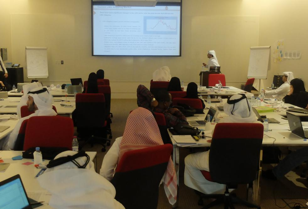 Nakilat Managing Director Shares Strategy Development Experience with HBKU Students