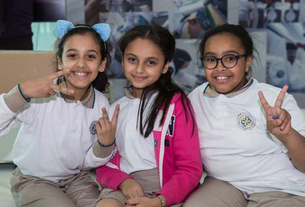 HBKU's QEERI Outreach Program Introduces School Students to Green Energy