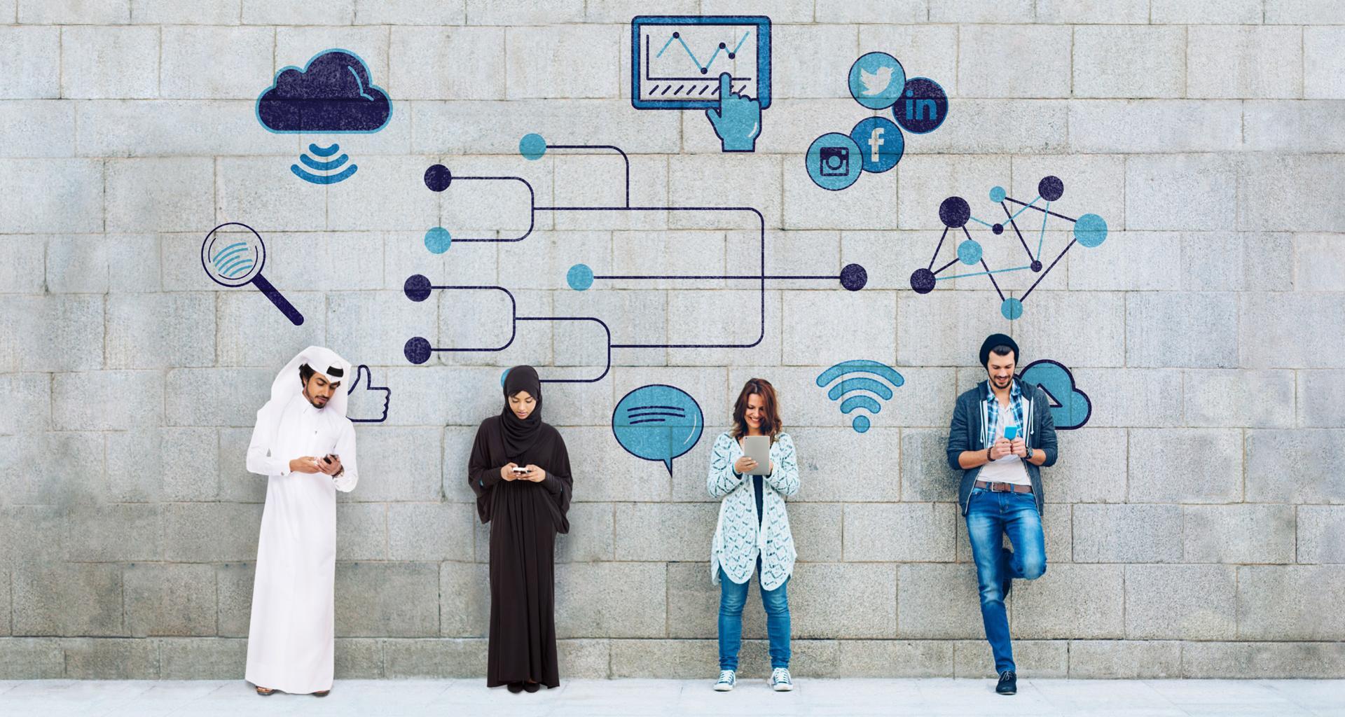 ماجستير العلوم الإنسانية والمجتمعات الرقمية