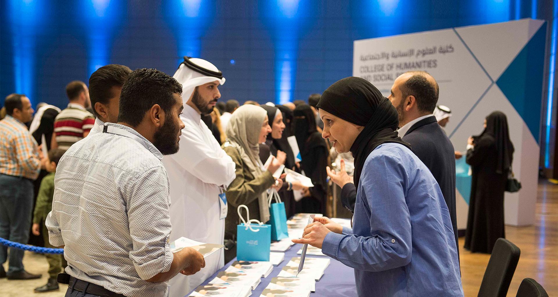 جامعة حمد بن خليفة تكشف عن ثمانية برامج جديدة للدراسات العليا خلال فعالية خاصة