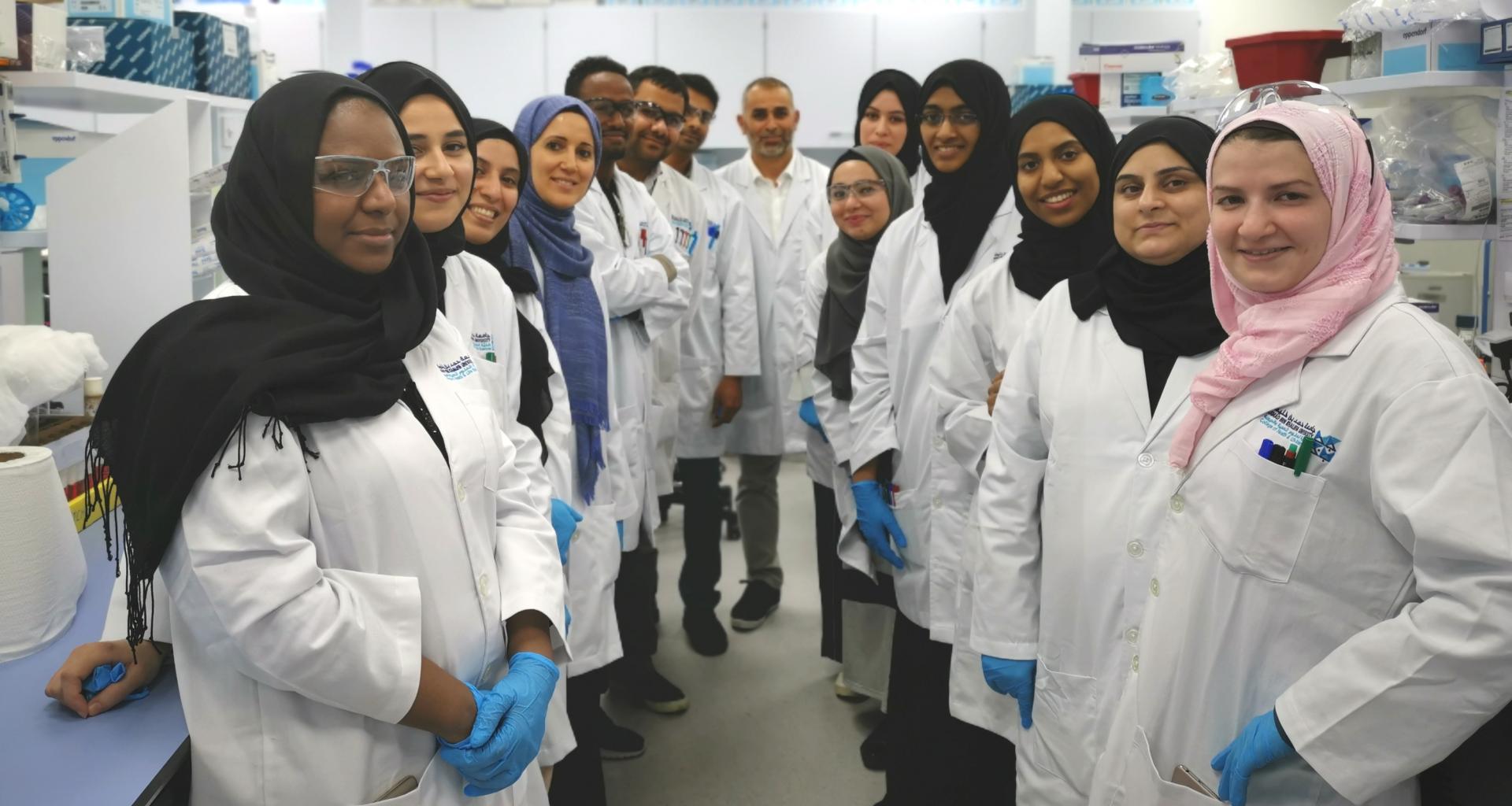 HBKU's CHLS Workshop Advances Laboratory Skills of Graduate Students
