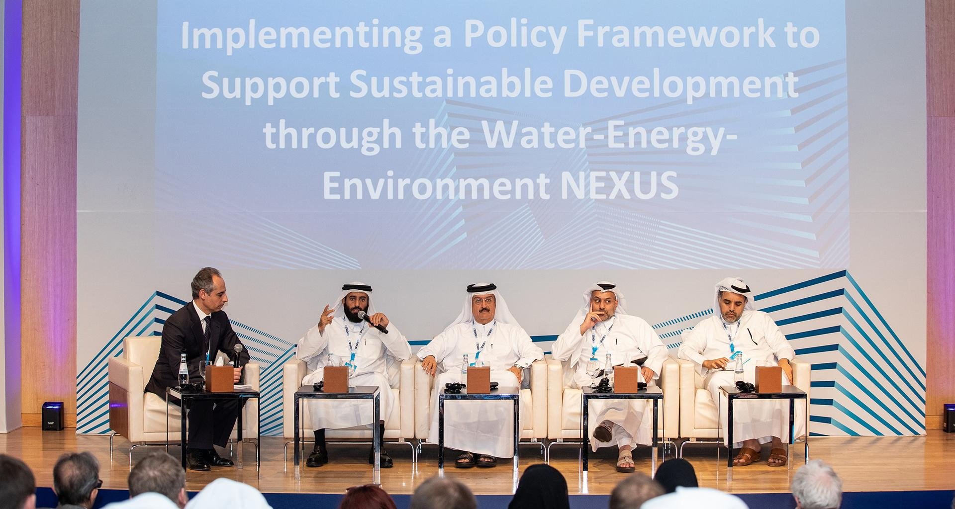 Qatar Environment and Energy Research Institute Conference Concludes Four-day Discussions and Debates