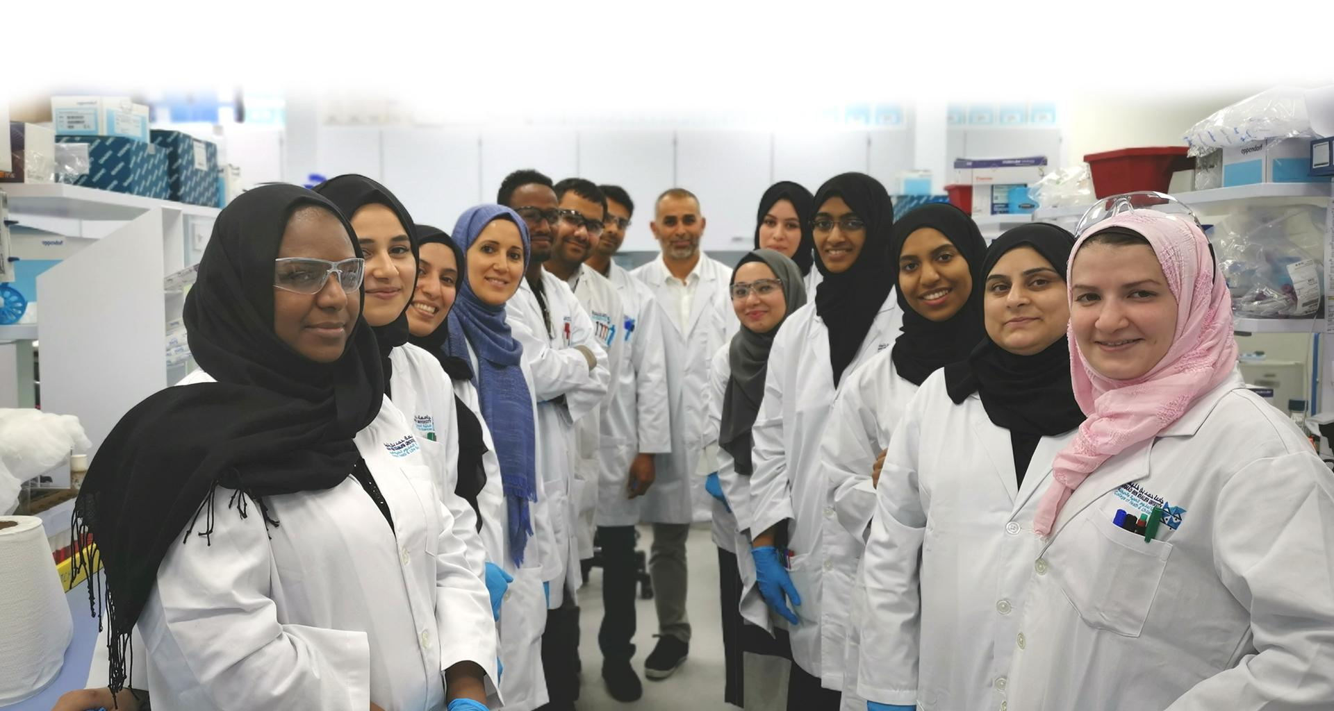 HBKU's CHLS Workshop Advances Laboratory Skills of Graduate Students