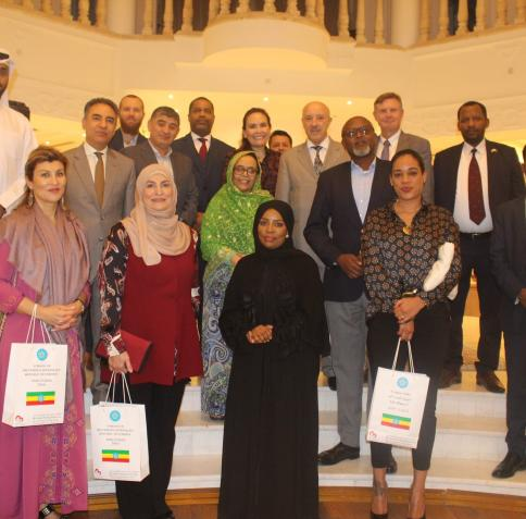 CPP Dean and Professor Engage at Cultural Gathering Hosted by Ethiopian Ambassador to Qatar