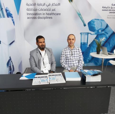 شارك معهد قطر لبحوث الطب الحيوي، وكلية العلوم الصحية والحيوية، ومعهد قطر لبحوث الحوسبة، في مؤتمر سدرة للطب لعام 2019