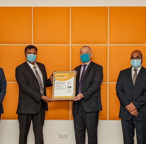 HBKU's Qatar Environment and Energy Research Institute Awarded ISO Certification for  its Integrated Management System
