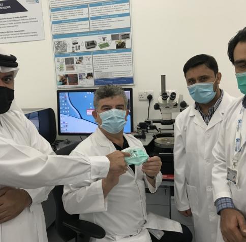 باحثو جامعة حمد بن خليفة يطورون كمامات ذكية توظف تقنيات استشعار متقدمة