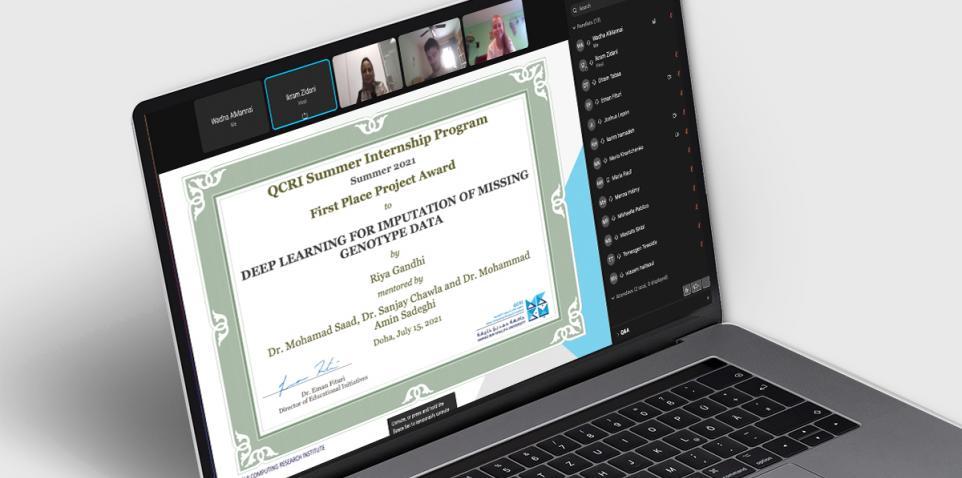 HBKU's Qatar Computing Research Institute Provides Intensive Training During Summer Online Internship Program