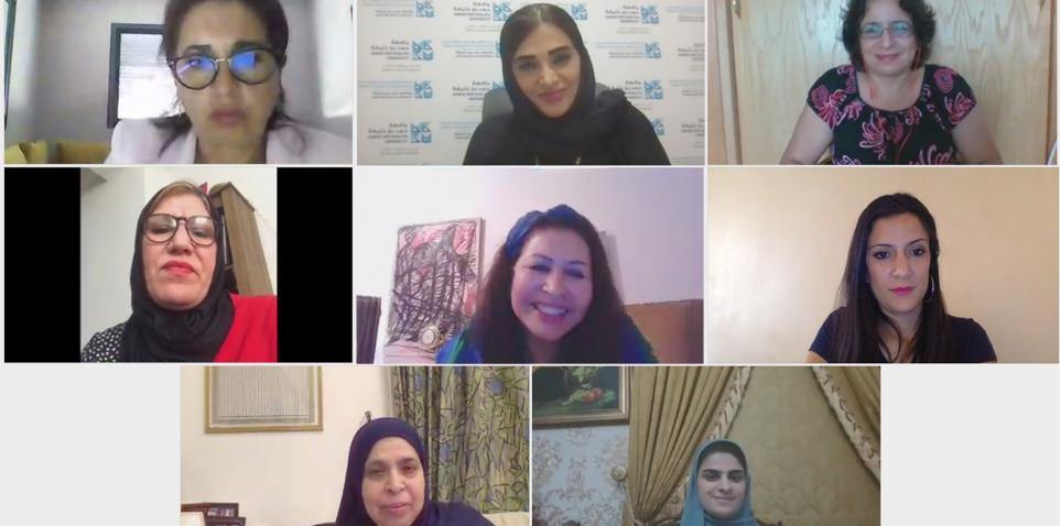 كلية العلوم الإنسانية والاجتماعية بجامعة حمد بن خليفة تناقش تأثير نظام الكوتا على المشاركة السياسية للمرأة