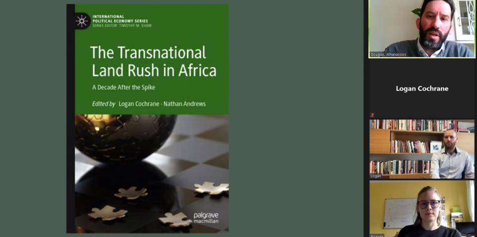 CPP Professor Presents Lecture on his Book about Land Rush in Africa to Exeter University Graduate Students