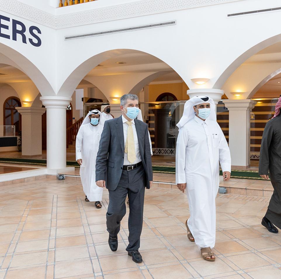 كهرماء وجامعة حمد بن خليفة يوقعان إطار التعاون للاستفادة بمختبرات معهد قطر لبحوث البيئة والطاقة