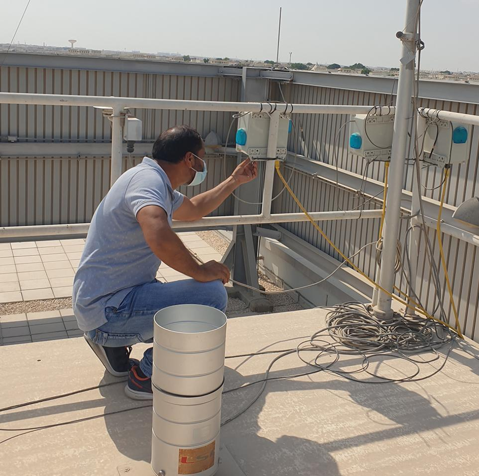 Scientific Research Raises Level of Urban Air Quality Management: A Decade of Qatar Environment and Energy Research Institute