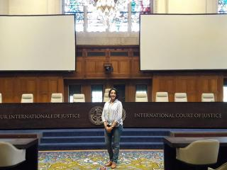 HBKU Student Joins Legal Training at The Hague Academy of International Law Summer Program