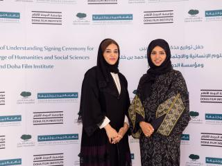 HBKU's College of Humanities and Social Sciences signs MoU with Doha Film Institute