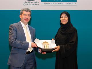 Hamad Bin Khalifa University Honors Dr. Aisha Al Mannai for Her Contributions to Qatari Society