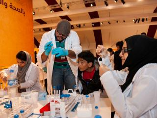 HBKU's Research Institutes Support QF's National Day Activities at Darb Al Saai